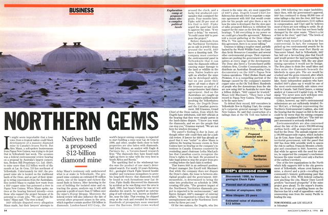Article Preview: NORTHERN GEMS, March 1996 | Maclean's