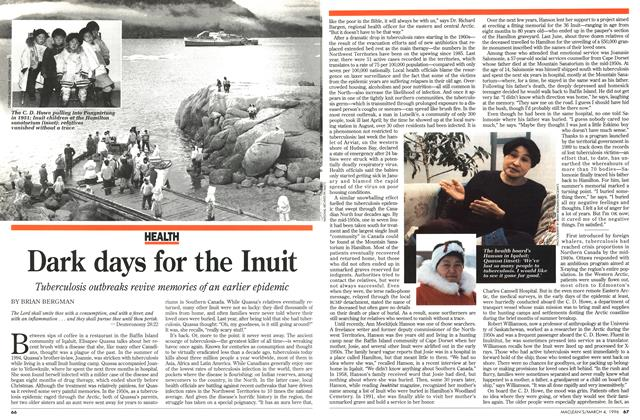 Article Preview: Dark days for the Inuit, March 1996 | Maclean's