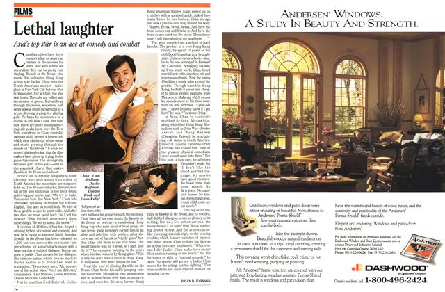 Article Preview: Lethal laughter, March 1996 | Maclean's