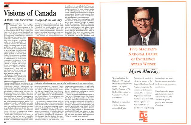Article Preview: Visions of Canada, March 1996 | Maclean's