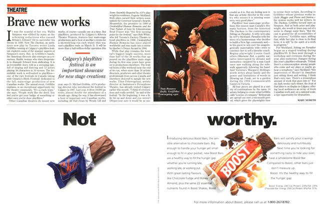 Article Preview: Brave new works, March 1996 | Maclean's