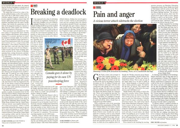 Article Preview: Breaking a deadlock, March 1996 | Maclean's