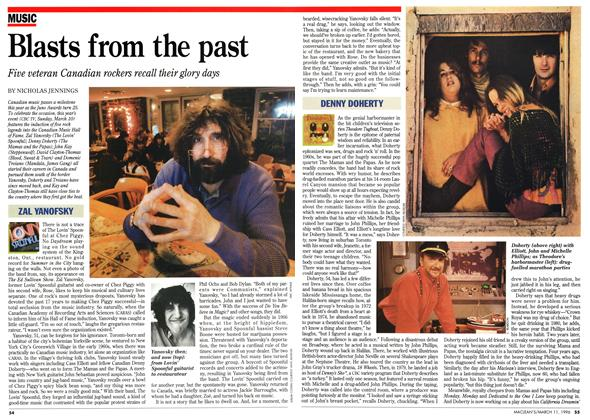 Article Preview: Blasts from the past, March 1996 | Maclean's