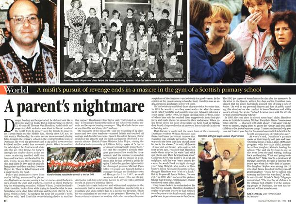 Article Preview: A parent's nightmare, March 1996 | Maclean's