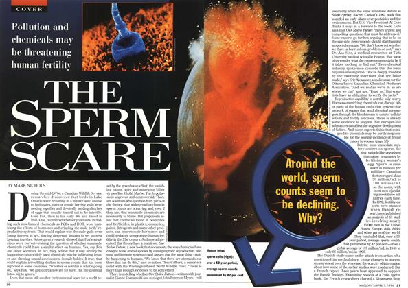 Article Preview: THE SPERM SCARE, April 1996 | Maclean's