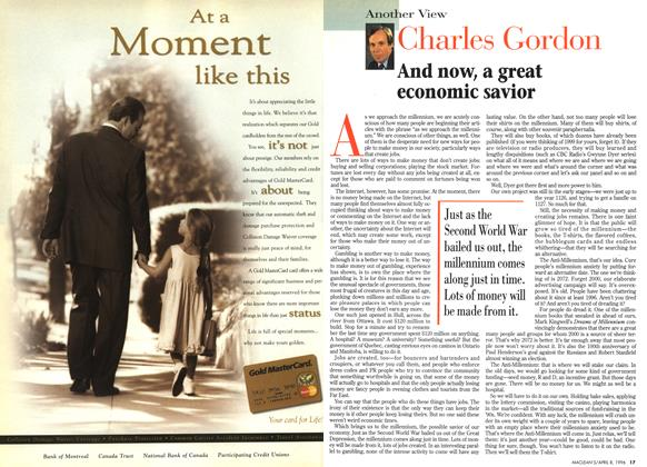Article Preview: And now, a great economic savior, April 1996 | Maclean's