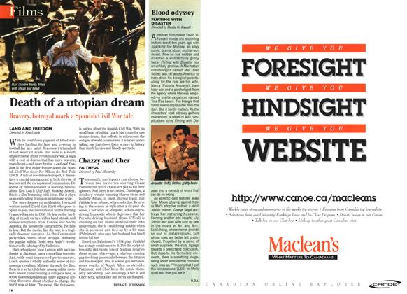 Article Preview: Death of a utopian dream, April 1996 | Maclean's