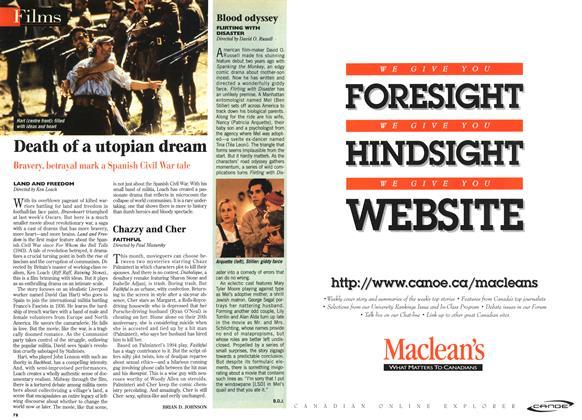Article Preview: Death of a utopian dream, April 1996   Maclean's