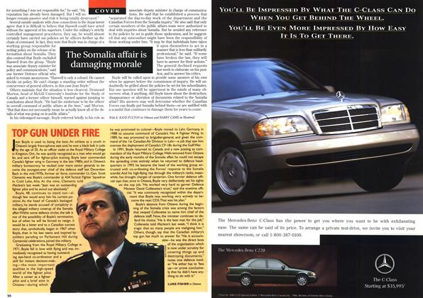 Article Preview: TOP GUN UNDER FIRE, April 1996 | Maclean's