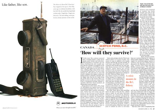 Article Preview: 'How will they survive?', April 1996 | Maclean's