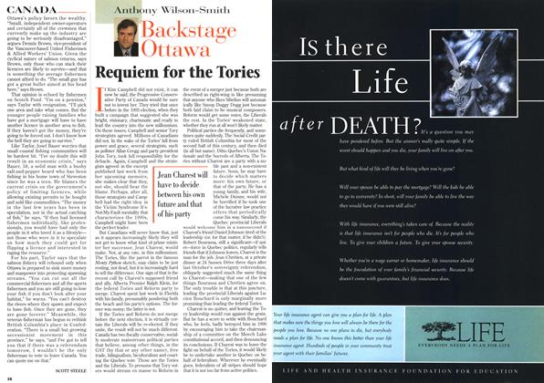 Article Preview: Requiem for the Tories, April 1996 | Maclean's
