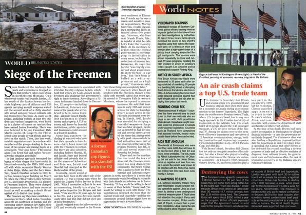 Article Preview: Siege of the Freemen, April 1996 | Maclean's