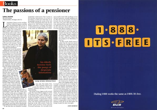 Article Preview: The passions of a pensioner, April 1996 | Maclean's