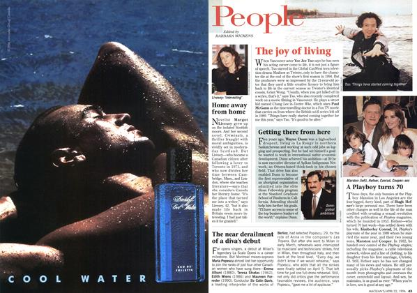 Article Preview: People, April 1996 | Maclean's