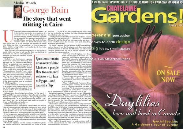 Article Preview: George Bain, April 1996 | Maclean's