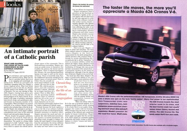 Article Preview: An intimate portrait of a Catholic parish, April 1996   Maclean's