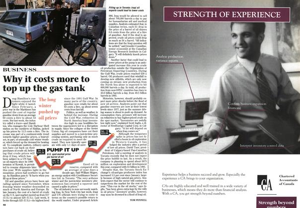 Article Preview: Why it costs more to top up the gas tank, April 1996 | Maclean's