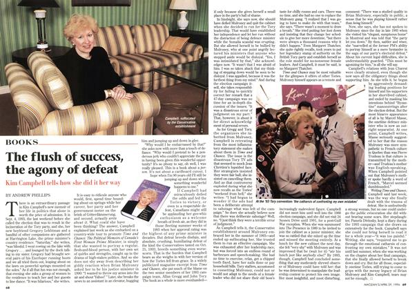 Article Preview: The flush of success, the agony of defeat, April 1996 | Maclean's