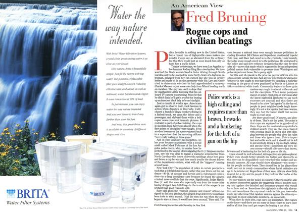Article Preview: Fred Bruning, April 1996 | Maclean's