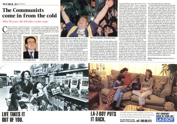 Article Preview: The Communists come in from the cold, May 1996 | Maclean's