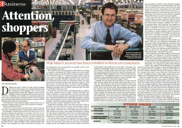 Article Preview: Attention, shoppers, May 1996 | Maclean's