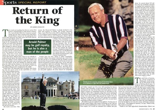 Article Preview: Return of the King, May 1996 | Maclean's