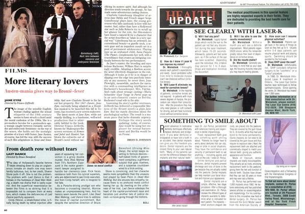 Article Preview: More literary lovers, May 1996 | Maclean's