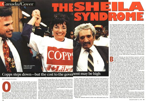Article Preview: THE SHEILA SYNDROME, May 1996 | Maclean's