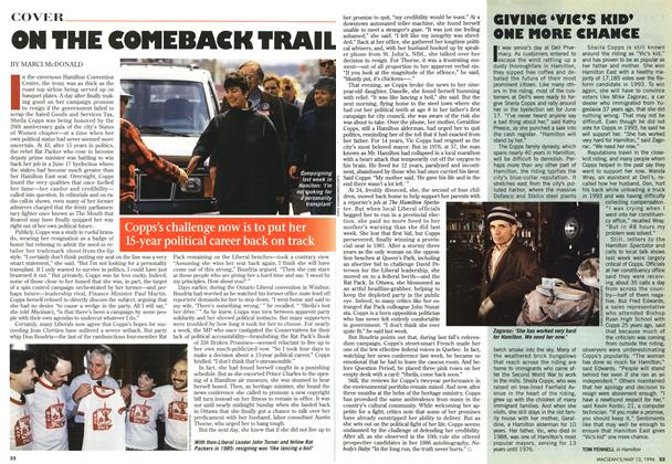 Article Preview: ON THE COMEBACK TRAIL, May 1996 | Maclean's