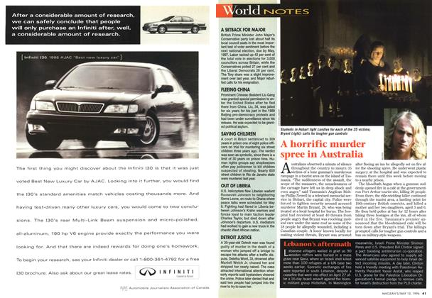 Article Preview: World NOTES, May 1996 | Maclean's
