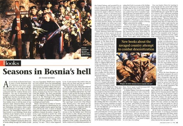 Article Preview: Seasons in Bosnia's hell, May 1996 | Maclean's