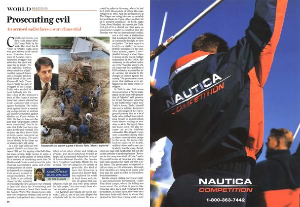 Article Preview: Prosecuting evil, May 1996 | Maclean's