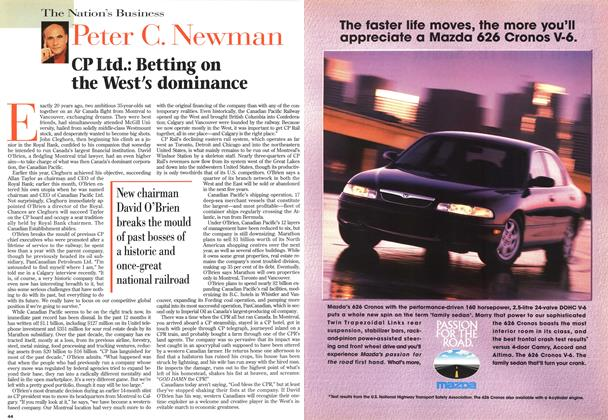 Article Preview: CP Ltd.: Betting on the West's dominance, May 1996 | Maclean's