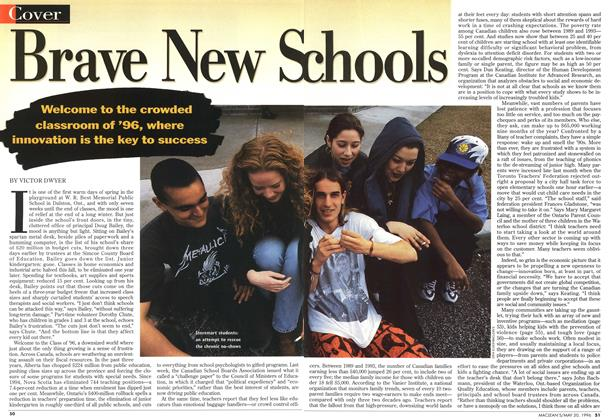 Article Preview: Brave New Schools, May 1996 | Maclean's