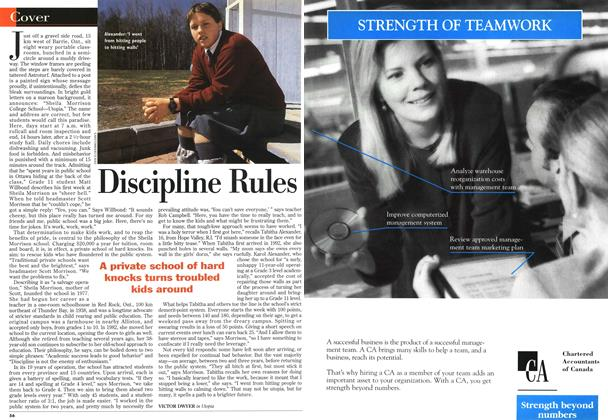 Article Preview: Discipline Rules, May 1996 | Maclean's