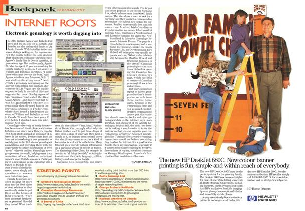 Article Preview: INTERNET ROOTS, May 1996 | Maclean's