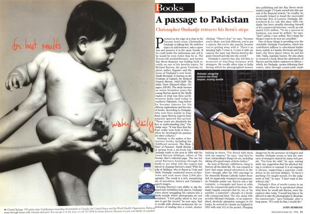 Article Preview: A passage to Pakistan, May 1996 | Maclean's