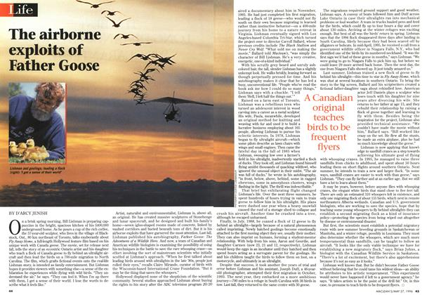 Article Preview: The airborne exploits of Father Goose, May 1996 | Maclean's