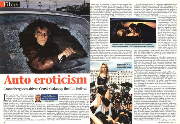 Article Preview: Auto eroticism, May 1996 | Maclean's