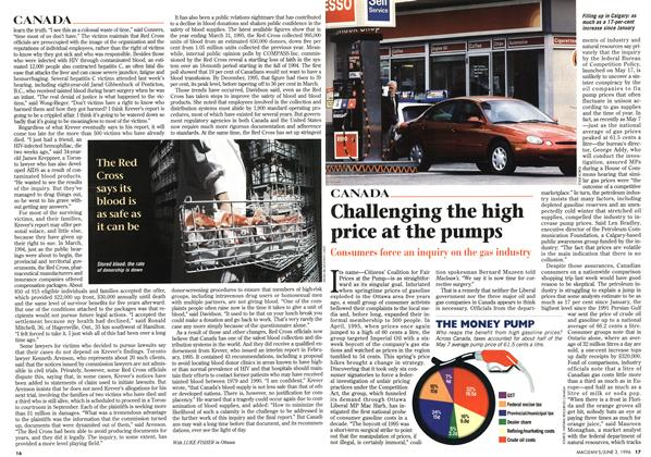 Article Preview: Challenging the high price at the pumps, JUNE 3,1996 1996 | Maclean's