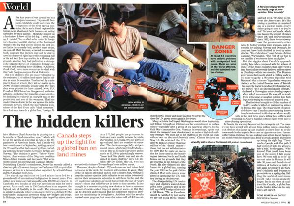Article Preview: The hidden killers, JUNE 3,1996 1996 | Maclean's