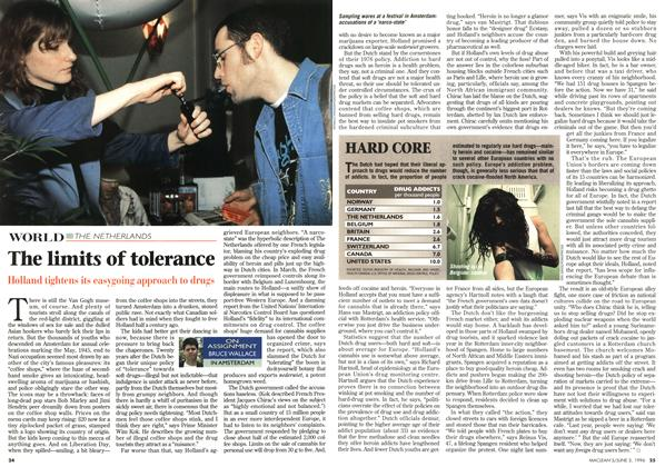 Article Preview: The limits of tolerance, JUNE 3,1996 1996 | Maclean's