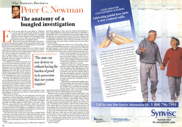 Article Preview: The anatomy of a bungled investigation, JUNE 3,1996 1996 | Maclean's