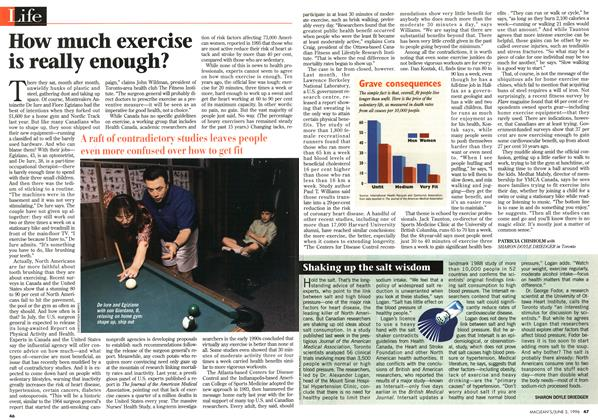 Article Preview: How much exercise is really enough?, JUNE 3,1996 1996 | Maclean's