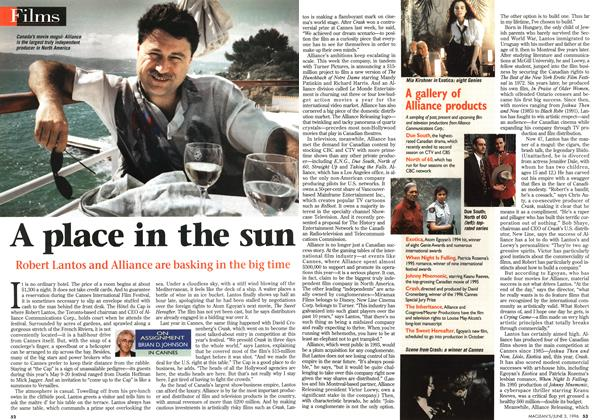 Article Preview: A place in the sun, JUNE 3,1996 1996 | Maclean's