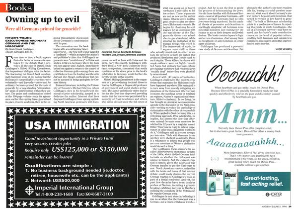 Article Preview: Owning up to evil, JUNE 3,1996 1996 | Maclean's