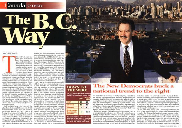 Article Preview: The B.C. Way, June 1996 | Maclean's