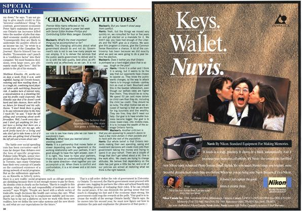 Article Preview: 'CHANGING ATTITUDES', June 1996 | Maclean's
