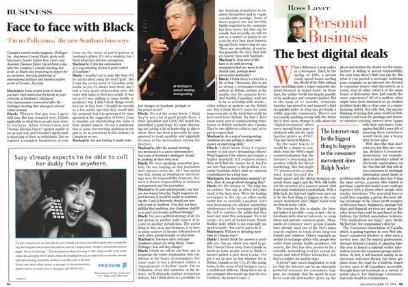 Article Preview: The best digital deals, June 1996   Maclean's