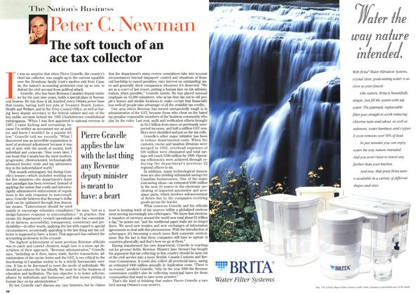 Article Preview: The soft touch of an ace tax collector, June 1996 | Maclean's